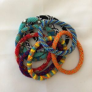 Set of 9 Lily and Laura Bracelets